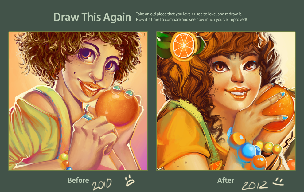 Draw This Again - Mandarina by GDBee