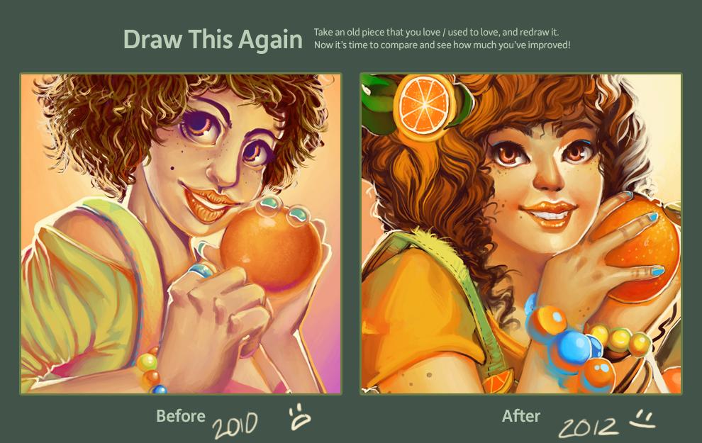 Draw This Again - Mandarina by GDBee