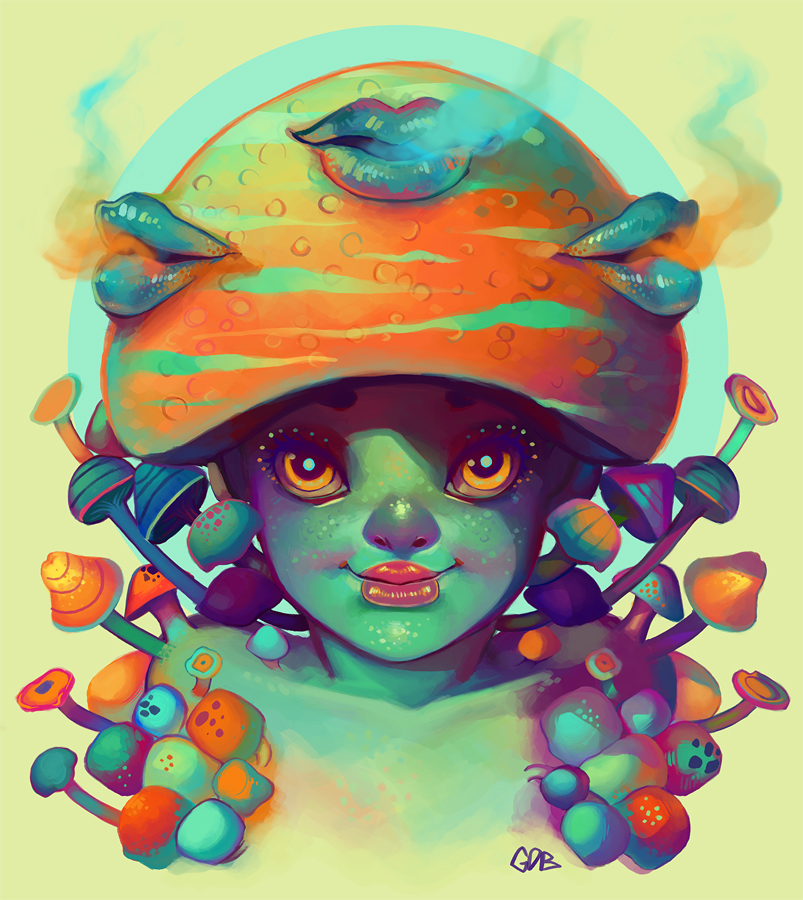 Mushroom by GDBee
