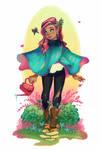 Springtime Poncho