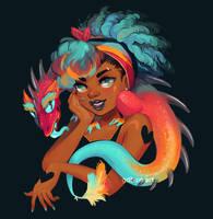 Mini Dragon 2018 by GDBee