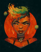Planette Mars by GDBee