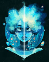 Planette Uranus by GDBee