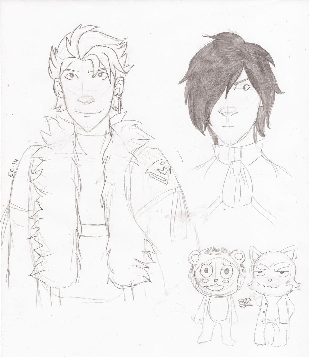 Sting, Rogue, Lector And Frosch By Star-bite13 On DeviantArt