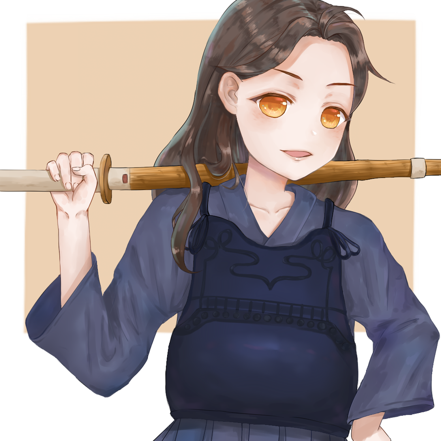 Kendo girl-Mika   - by AsterKuo