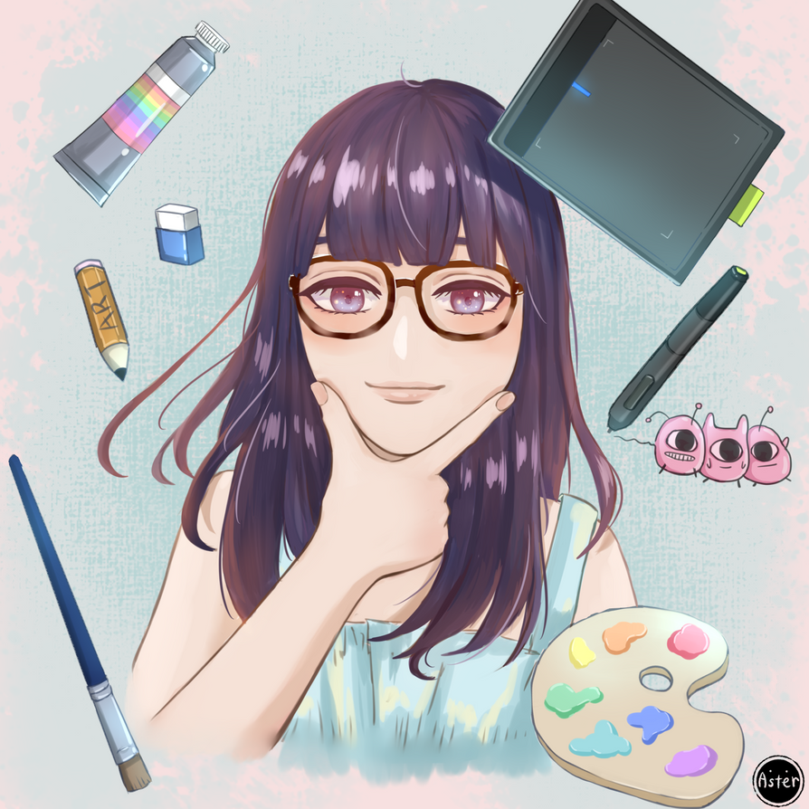 illustrator by AsterKuo