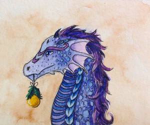 Advent dragon by Sirithcam