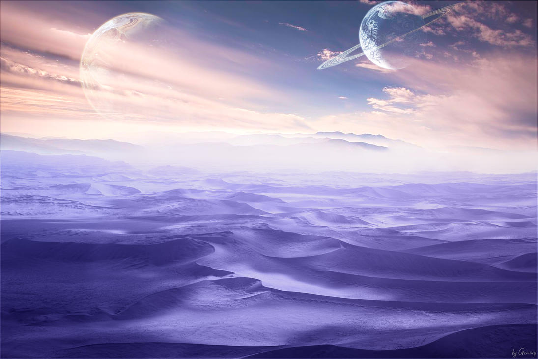 Dawn on an Unknown Planet by Genius6661313