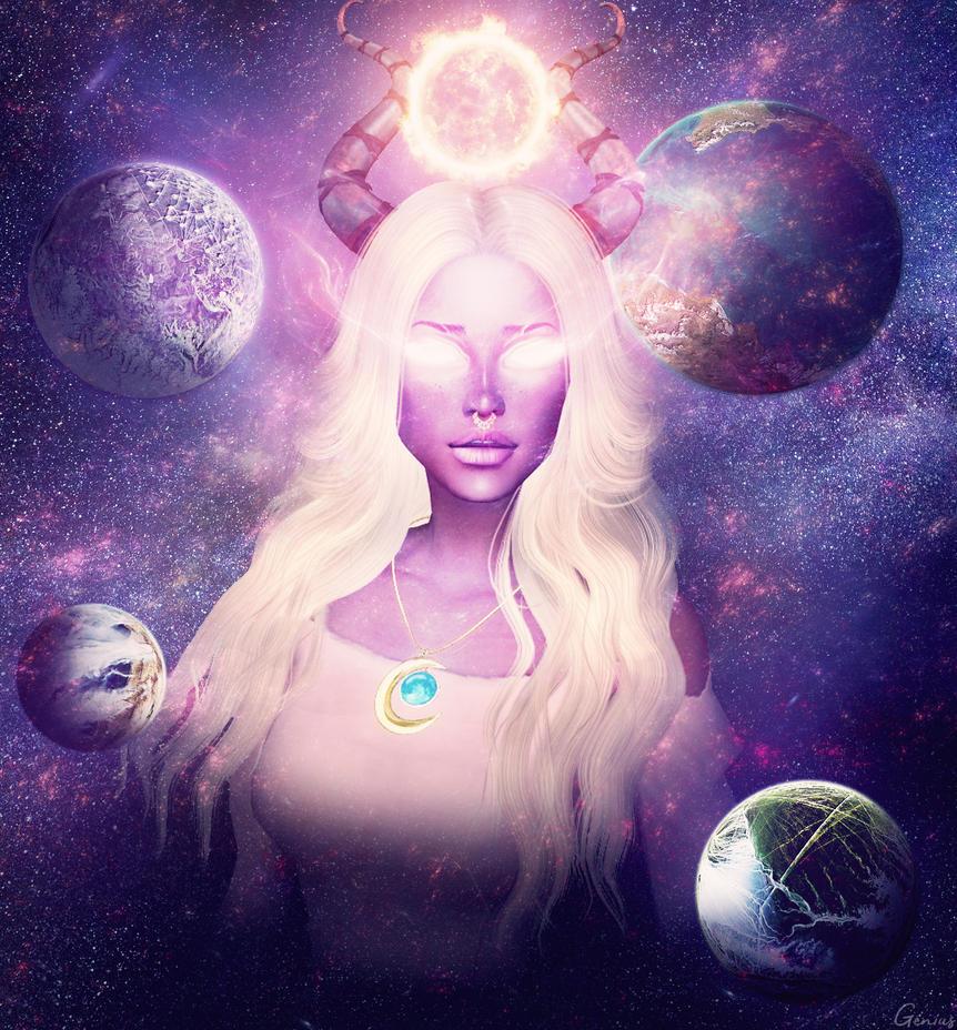 Star Goddess by Genius6661313