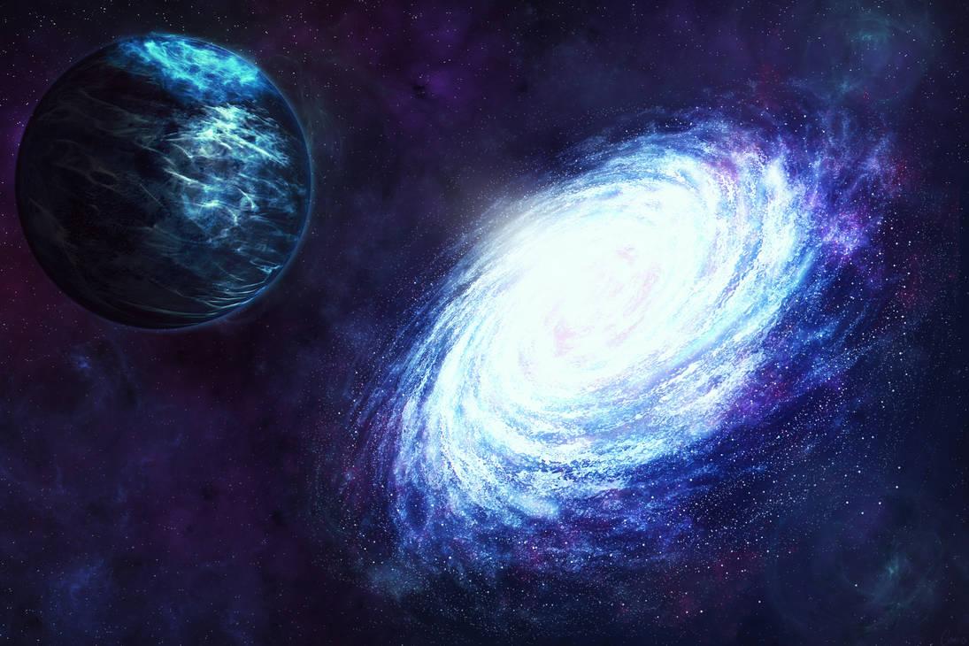 Galactic rivers by Genius6661313