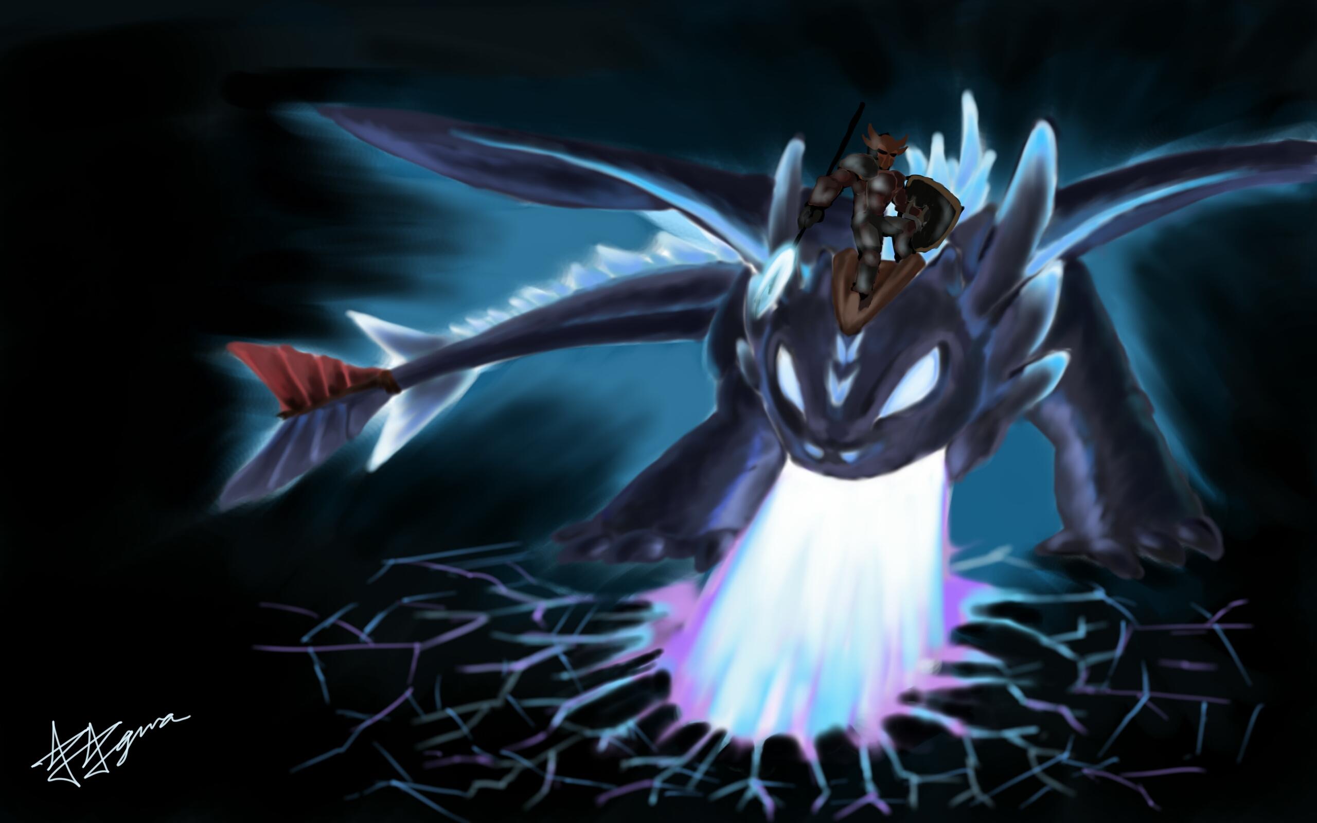 toothless, the super nightfury alpha dragonfiryaguna on deviantart