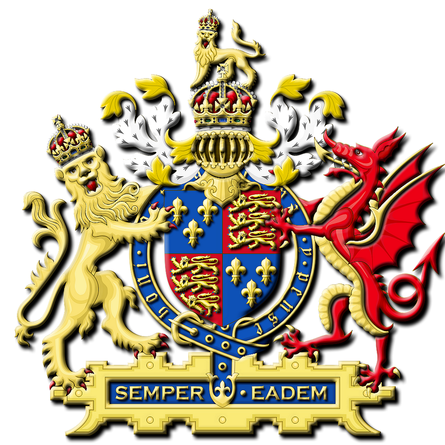 Royal Arms Of Queen Elizabeth I 1558 1603 By Petercrawford On