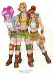 Metal Slug Girls