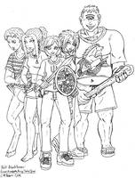 Half-blood Heroes by razielapprentice