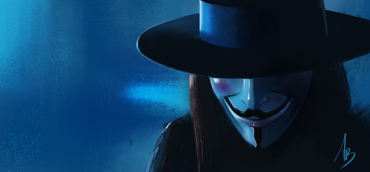 V for Vendetta by trungbui42