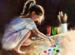 Life is a big canvas