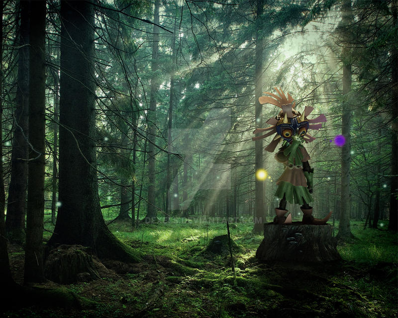 Skull Kid With Majoras Mask By Dexels