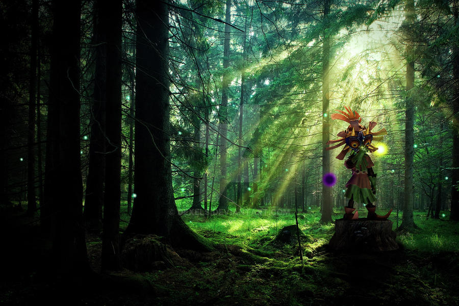 Skull Kid Wallpaper: Skull Kid With Majora's Mask 2.0 By Dexels On DeviantArt