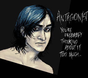 Antagonist stripped.