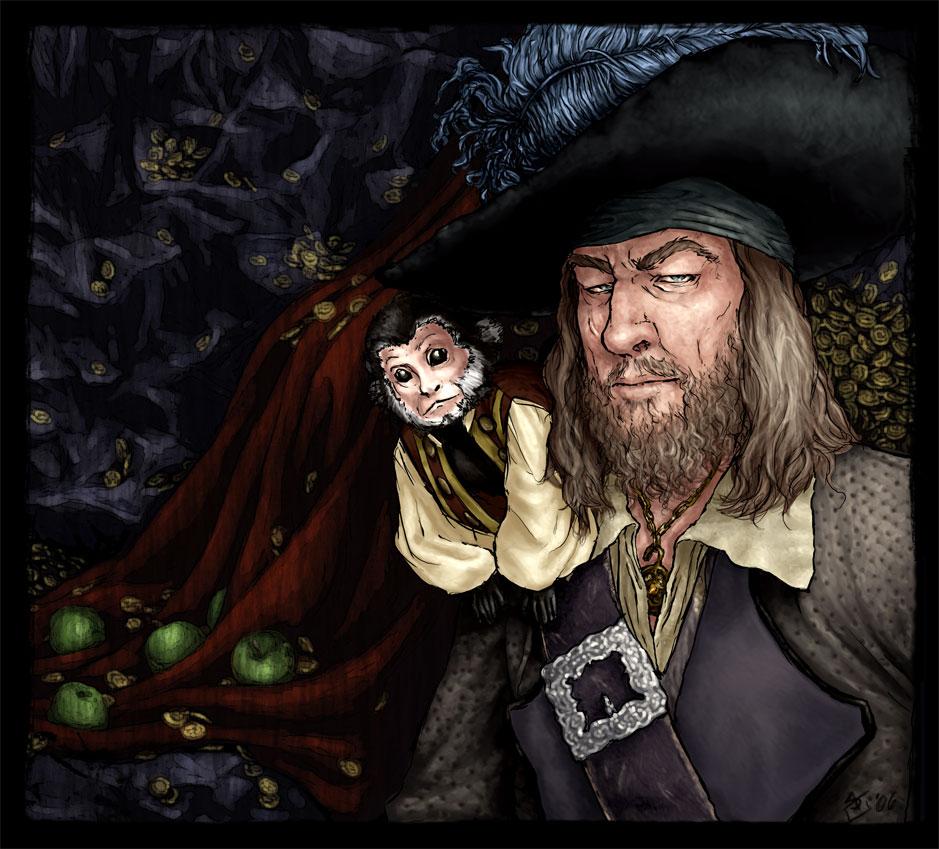 Barbossa and Jack