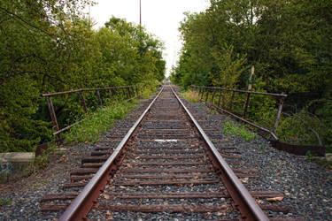 Tied To The Tracks. by LAWLZATJ00