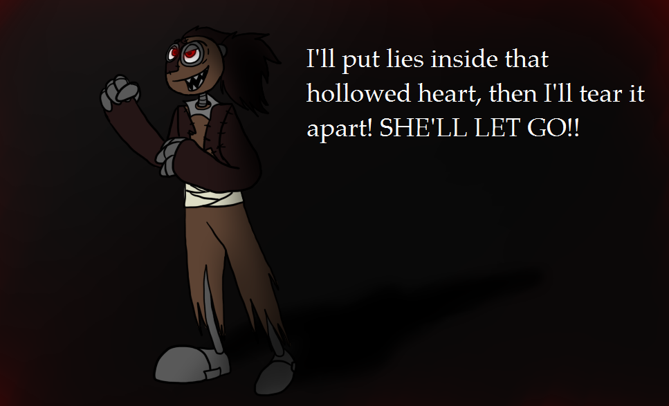 EvilBowie - She'll let go by XxQueenStormxX