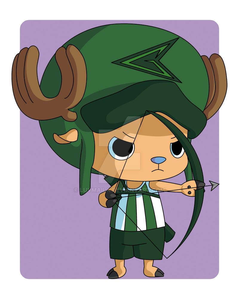 Chopper the Emerald Archer by MacyDo