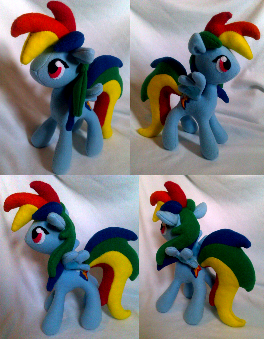 MLP: Rainbow Dash by Trinkety