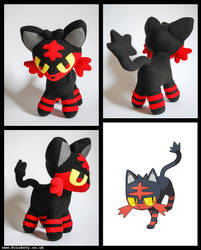 Pokemon: Litten Plush
