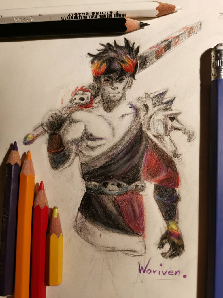 Zagreus from Supergiant's Hades by Woriven on DeviantArt
