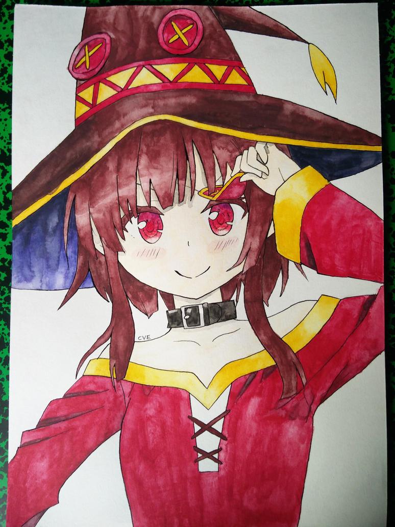 Megumin kono subarashii sekai ni shukufuku wo by heatseeker96