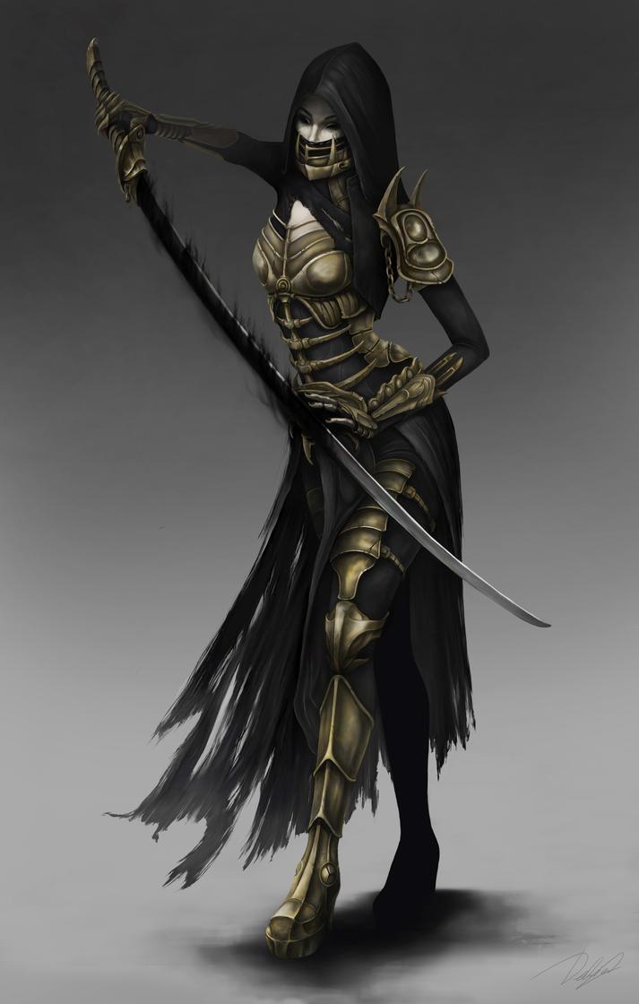 Warrior by OlgaDeliar