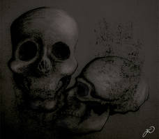 Skull by LittleBanhbao