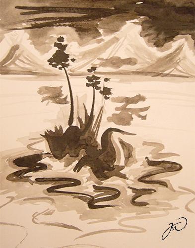 Lake by LittleBanhbao