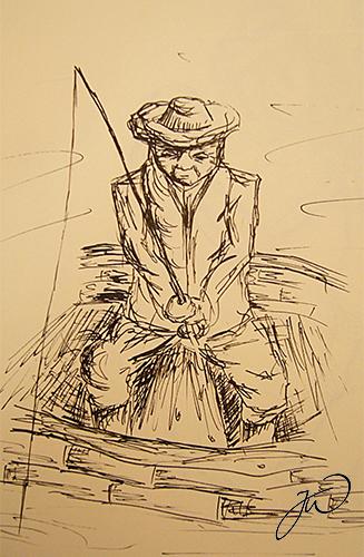 Fisherman by LittleBanhbao