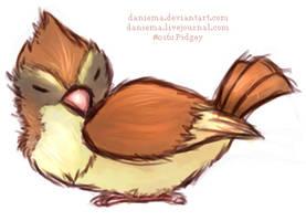 Pidgey by daniema