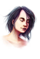 Sketch practise - feeling by ChrisMarvici