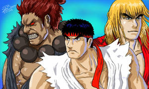 Gouken's Boys by audiobrainiac