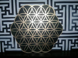 flower of life...sayagata by GreenaGene