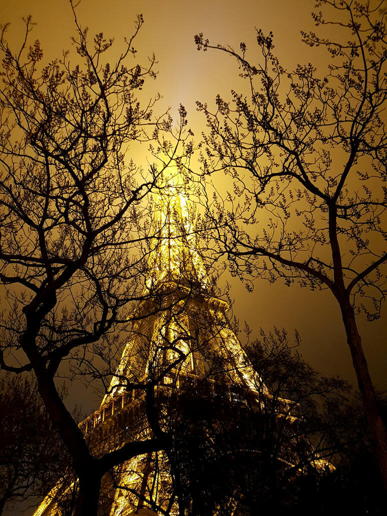 New Year's Eiffel by glass-eater