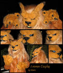 Leomon Cosplay - Unfinished