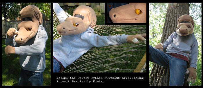Jarome the Carpet Python