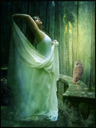 Athena, Goddess of Wisdom by violscraper
