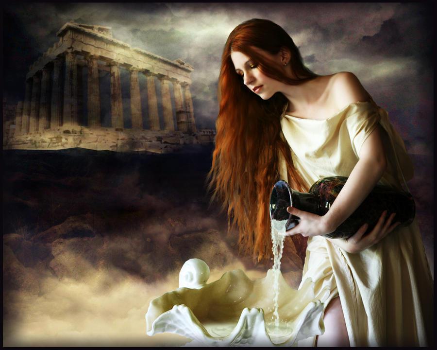 Panacea, Goddess of Healing by violscraper