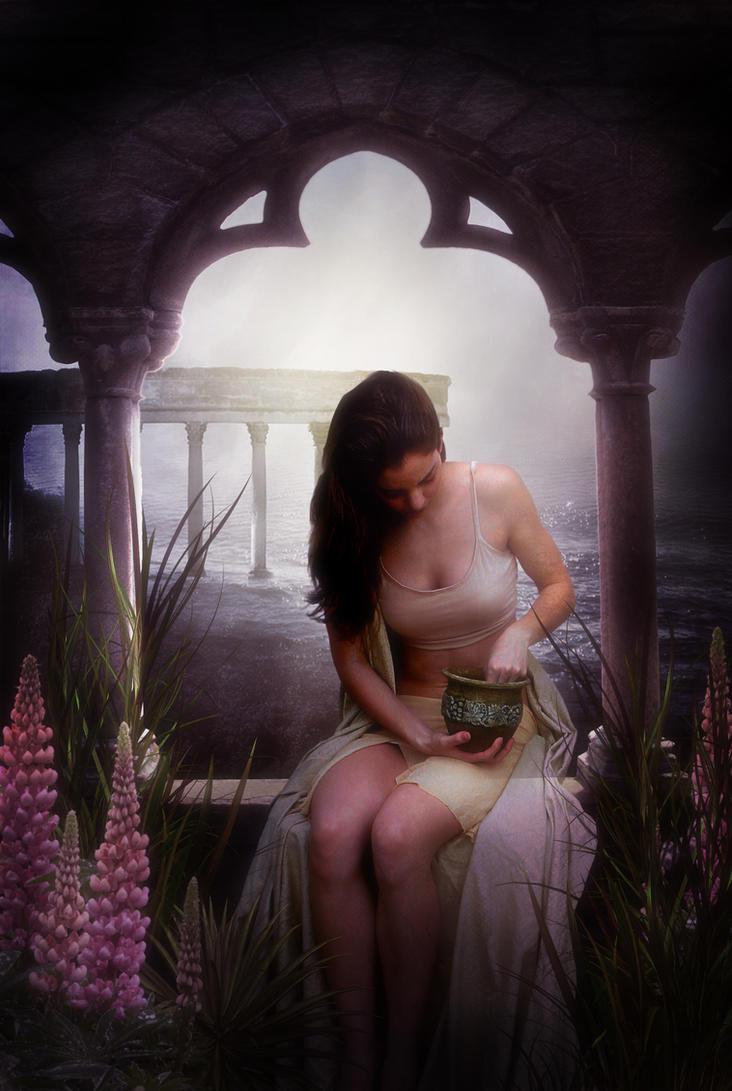 Chloris, Goddess of Flowers by violscraper
