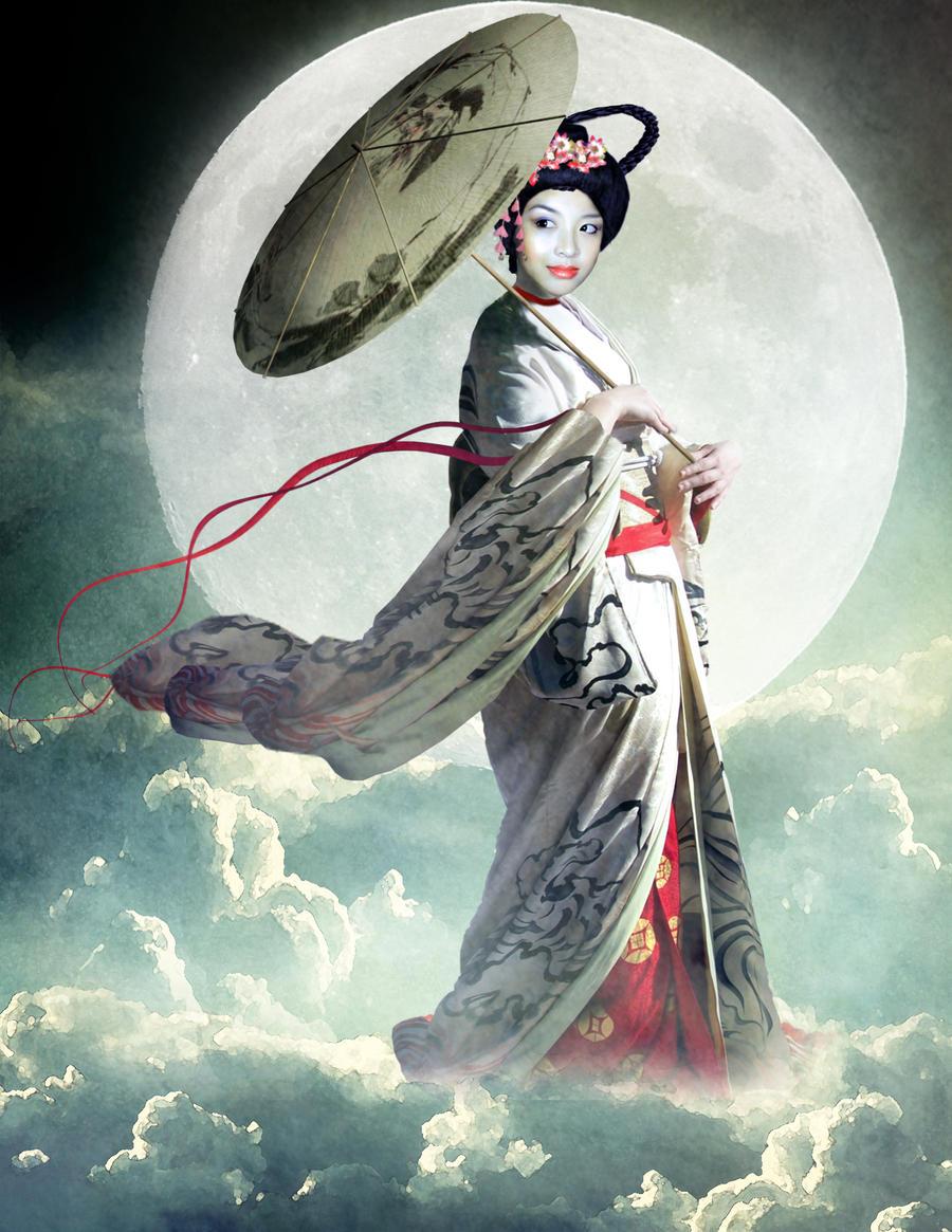 Chang'e, Goddess of the Moon by violscraper on DeviantArt