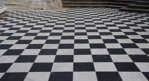 Checkered floor 8020