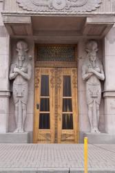 Egyptian doorway 8241 by estellium