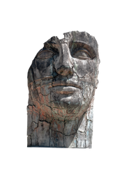 Surreal face sculpture 7749 by estellium