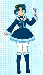 Sailor Snow Mercury by lamarce